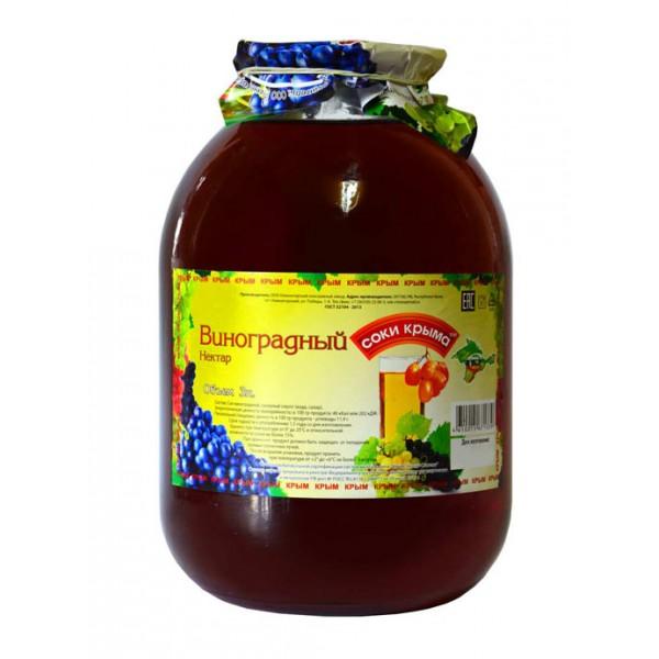 """Соковая продукция """"виноградный"""", 3л"""