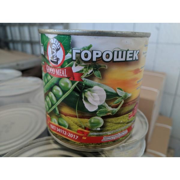 "Горошек  ""Good Meal "" 400гр.(1 СОРТ) ж/б  1/12"