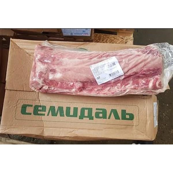 Спинно - поясничный отруб свиной бескостный в вакуумной упаковке (карбонат)
