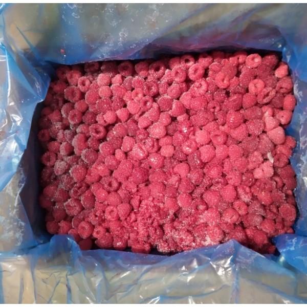 Малина целая с/м (4шт*2,5кг) 80/20 1/10 кг
