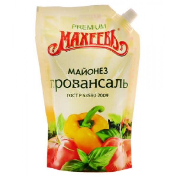 """Майонез """" Провансаль """"  50,5% д/п  800мл 10 шт МАХЕЕВЪ"""