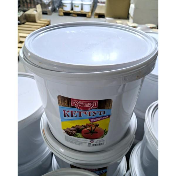 Кетчуп  шашлычный  ведро 5,5кг.