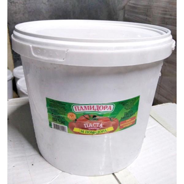 Томатная паста ГОСТ ведро 0,4 кг