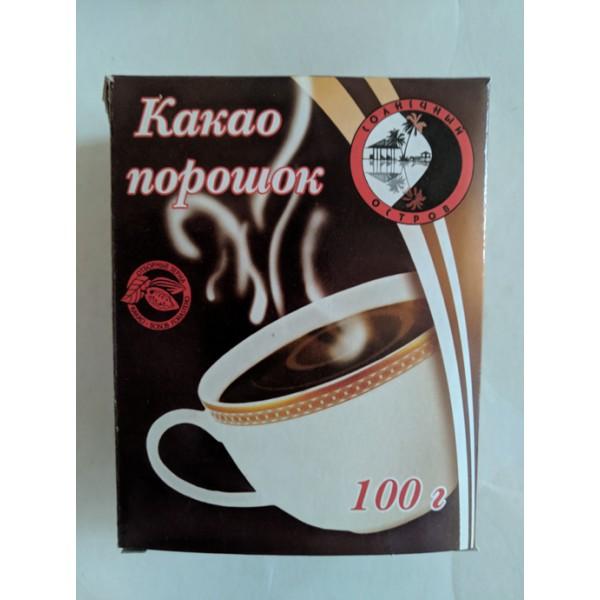 """Какао-порошок """"Солнечный Остров"""" 100гр. 1/40"""