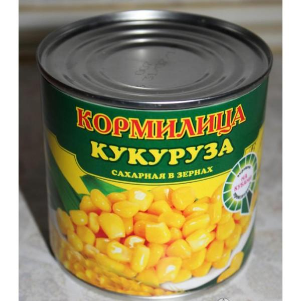 """Кукуруза """"Кормилица"""" ж/б 340гр. 1/12"""